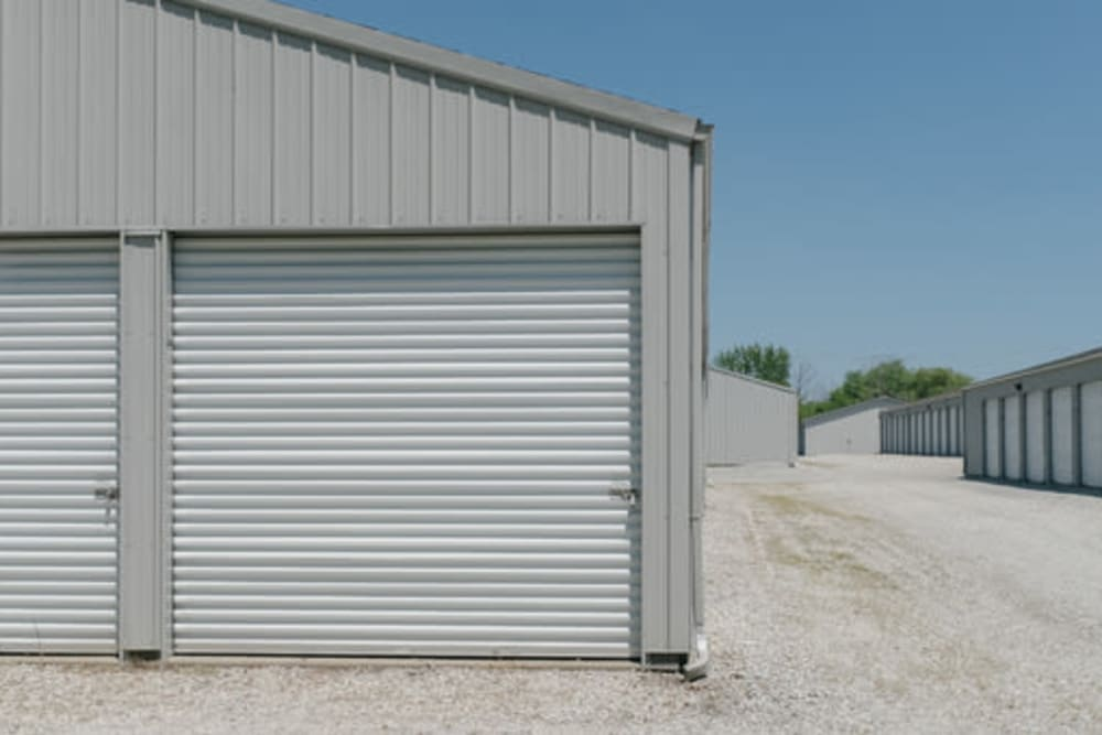 Easy access self storage units at StayLock Storage in Hebron, Indiana