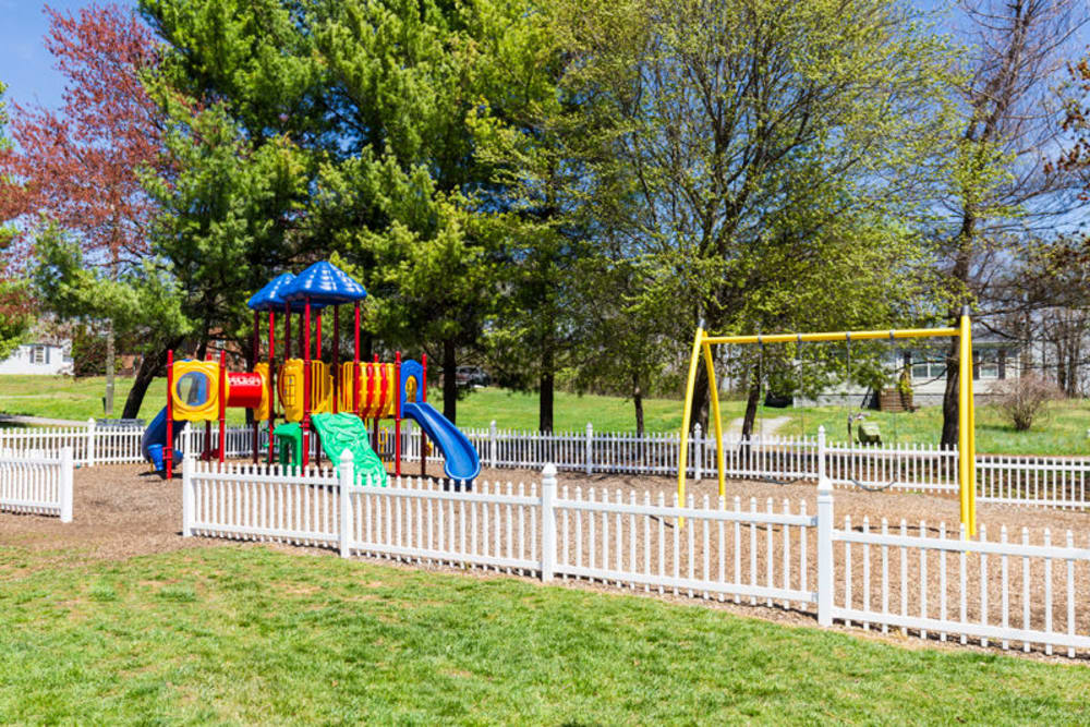 Playground at The Crest Apartments in Salem, Virginia