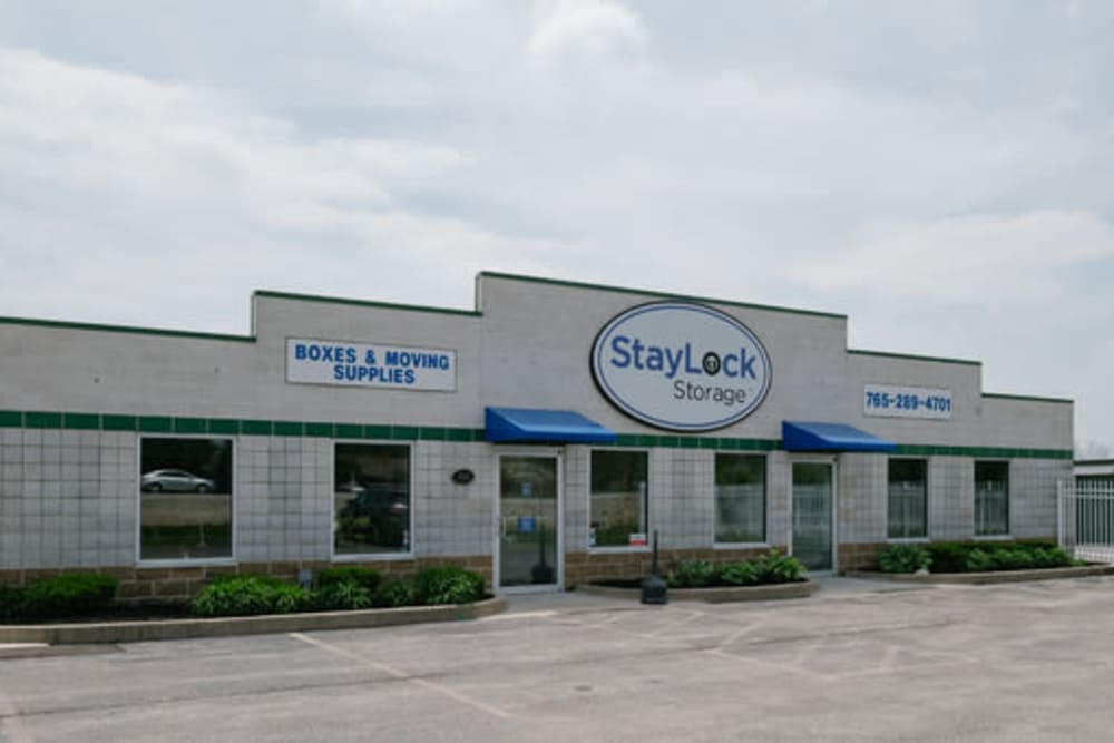 Exterior view of StayLock Storage in Muncie, Indiana