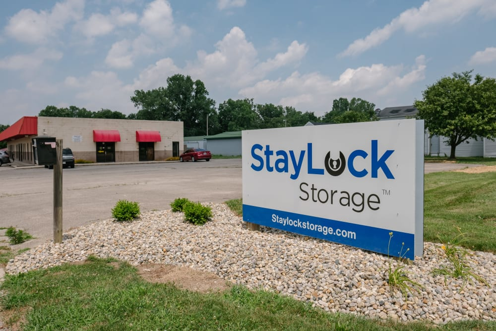 Entrance to our storage units at StayLock Storage in Muncie, Indiana