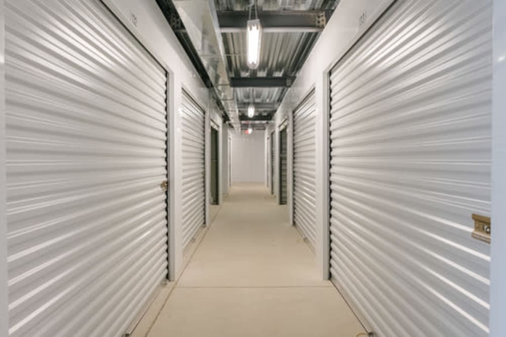 Indoor self storage units at StayLock Storage in Fort Wayne, Indiana