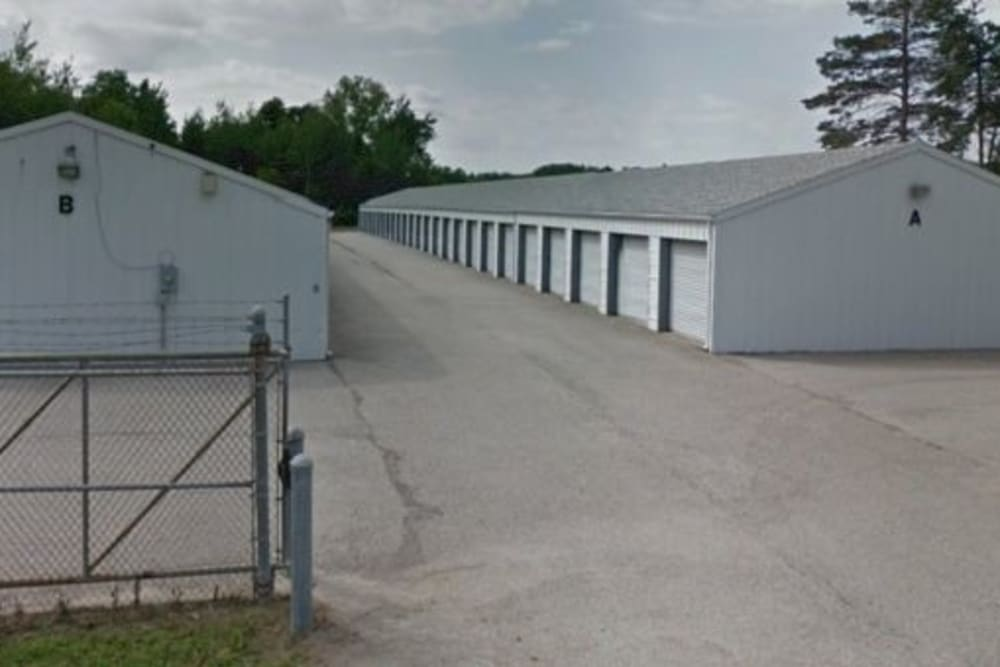 Entrance to our storage units at StayLock Storage in Michigan City, Indiana