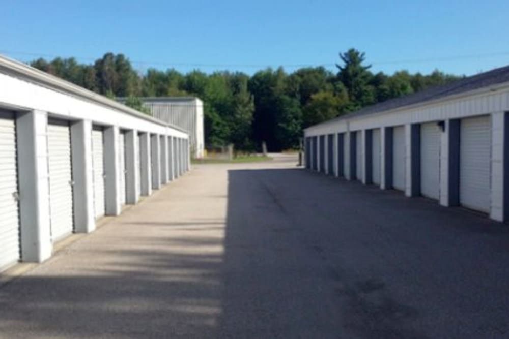 Easy access self storage units at StayLock Storage in Michigan City, Indiana