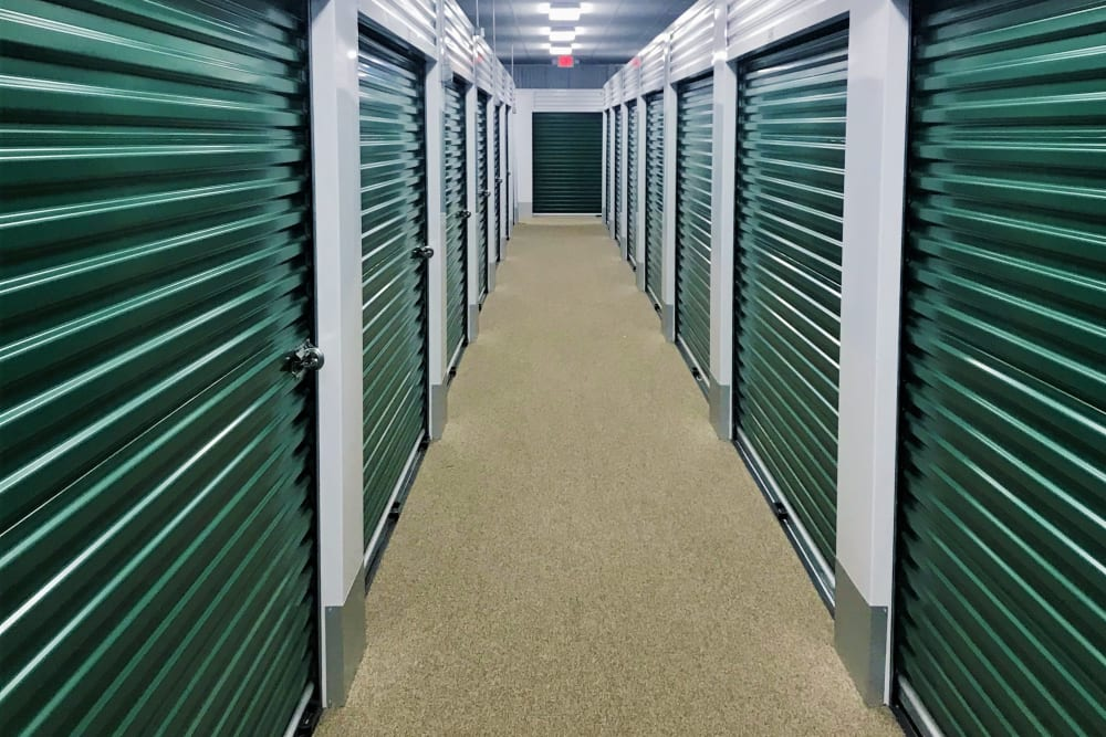Interior Units at Global Self Storage in Millbrook, NY