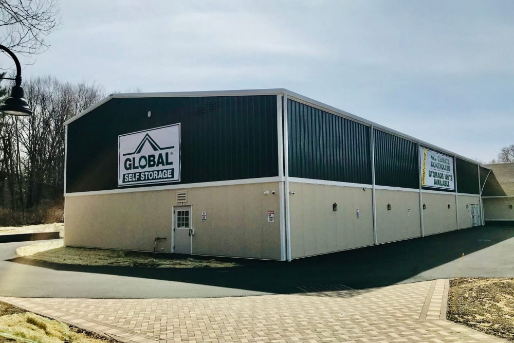 Outdoor units at Global Self Storage in Millbrook, NY
