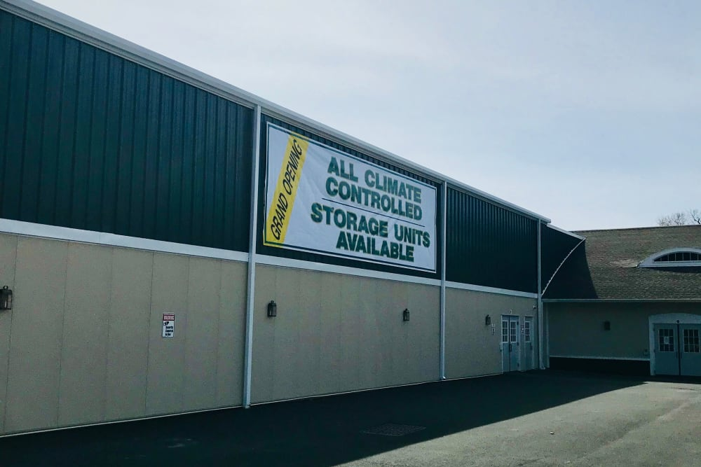 Exterior of Global Self Storage in Millbrook, NY
