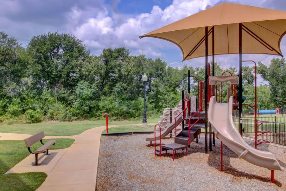 Onsite playground at Enclave at Grapevine in Grapevine, Texas