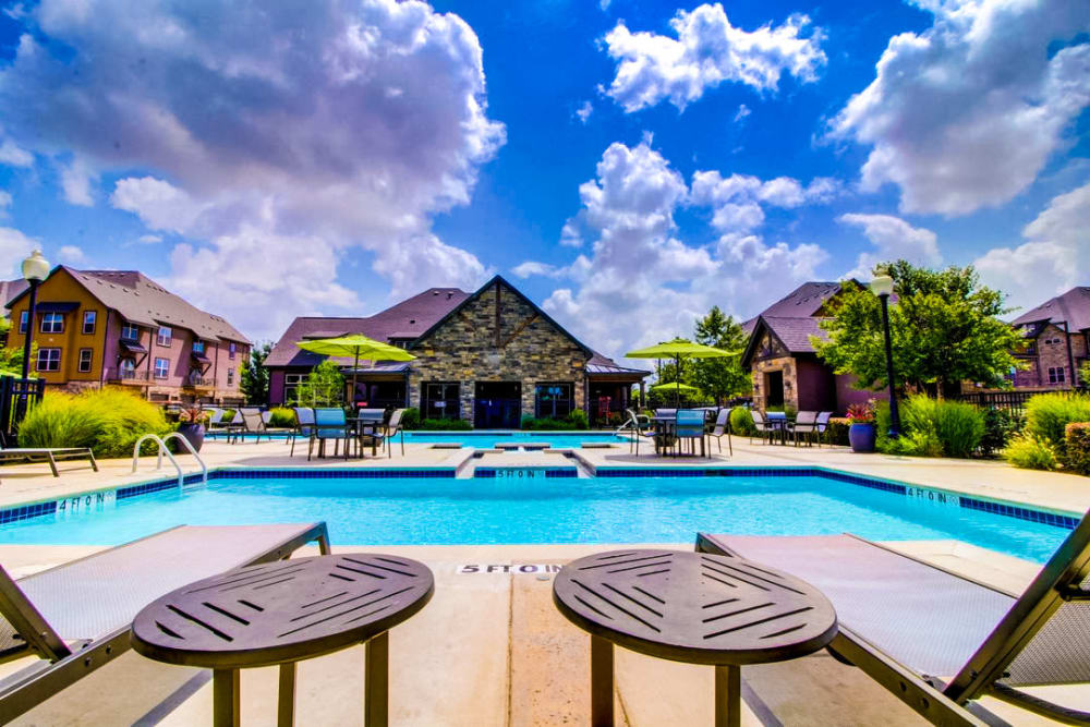 Swimming pool at Enclave at Grapevine in Grapevine, Texas