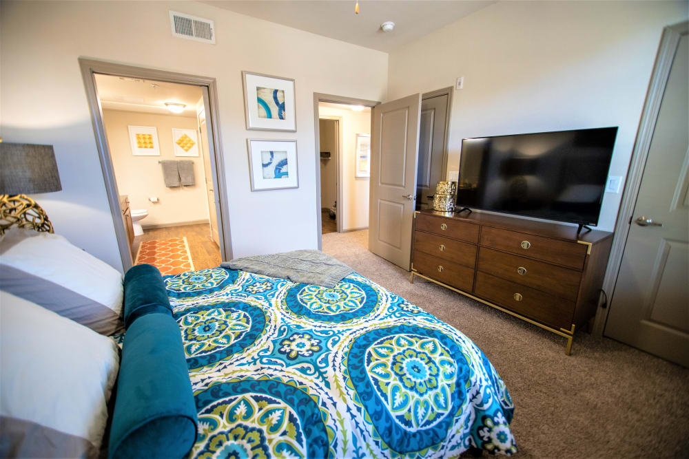 Master bedroom at Enclave at Grapevine in Grapevine, Texas