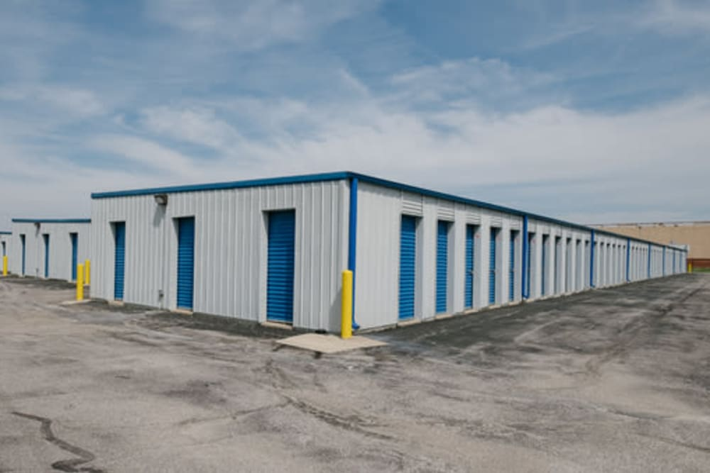 A variety of self storage units at StayLock Storage in Marion, Indiana