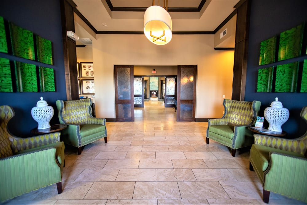 Entertainment lounge at Enclave at Grapevine in Grapevine, Texas