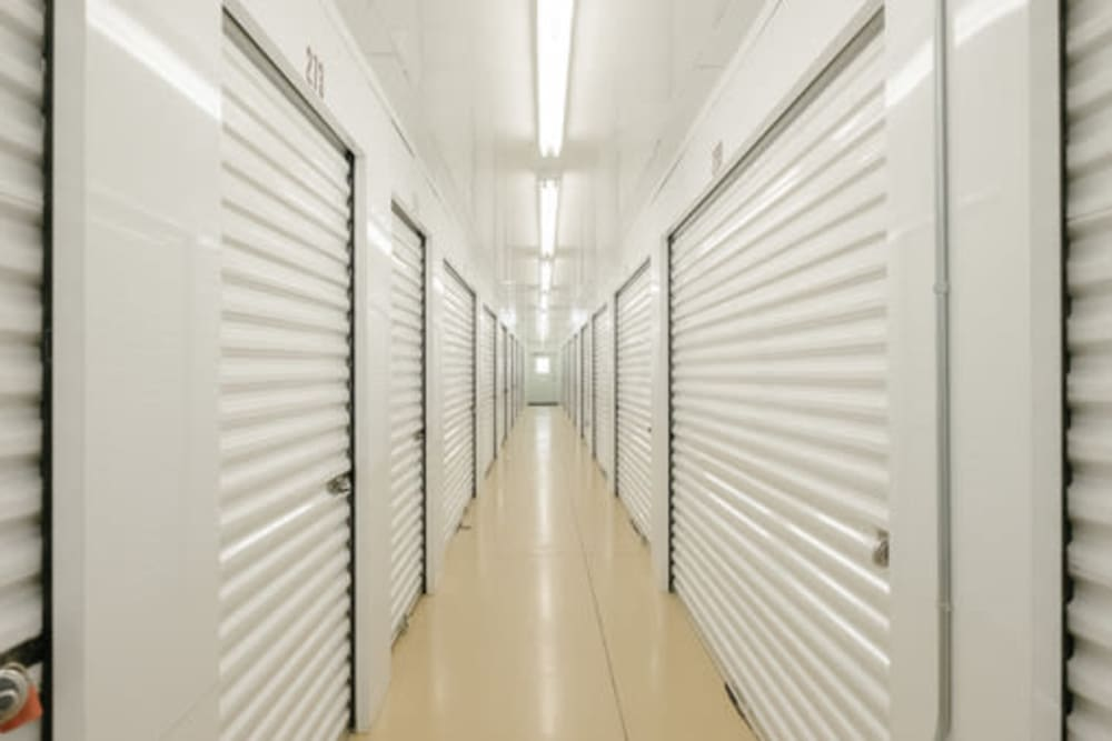 Climate-controlled self storage units at StayLock Storage in Anderson, Indiana