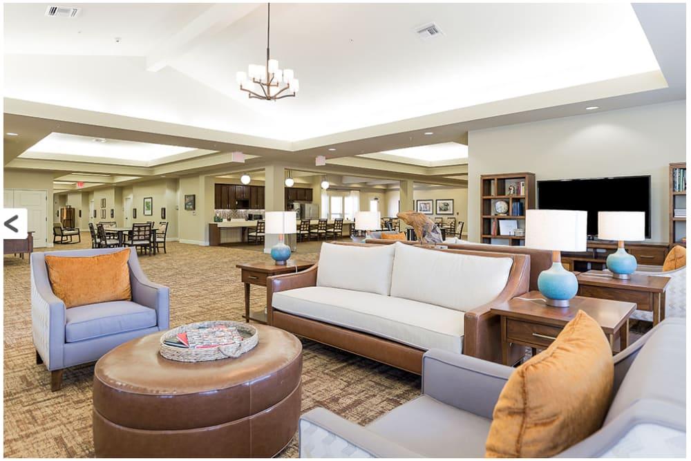 Lounge seating at Anthology of Denton in Denton, Texas