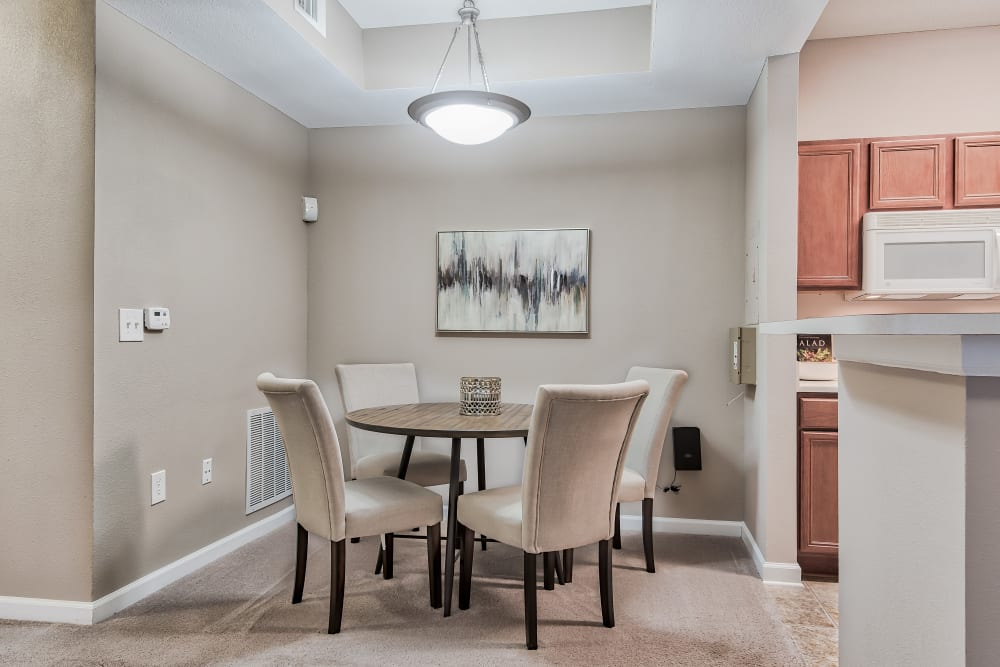 Dining Room at Cornerstone Apartments in Independence, Missouri