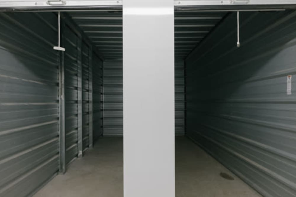 Inside units at StayLock Storage in Frankfort, Indiana