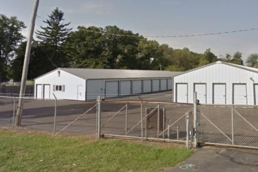 The gated entrance to StayLock Storage in Valparaiso, Indiana