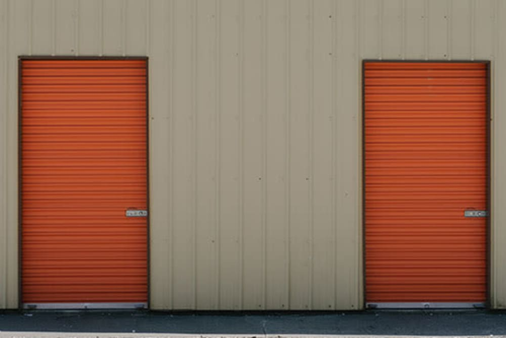 Small storage units at StayLock Storage in Wheatfield, Indiana