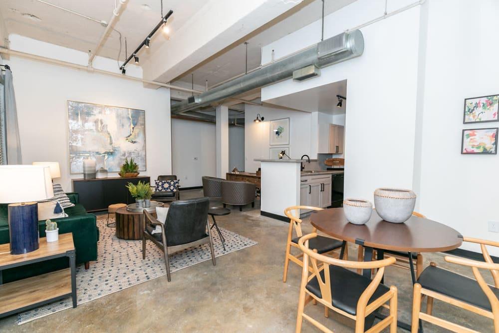 Lofts at Riverwalk living room