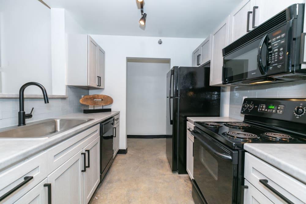 Kitchen at Lofts at Riverwalk