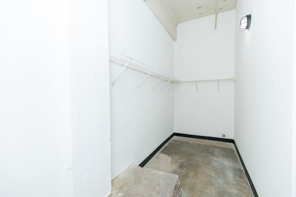 Closet at Lofts at Riverwalk