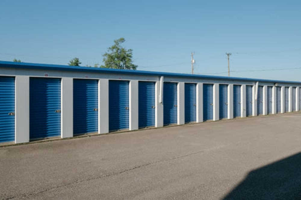 Self storage units at StayLock Storage in Frankfort, Indiana