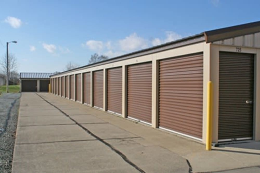 Exterior view of StayLock Storage in Anderson, Indiana