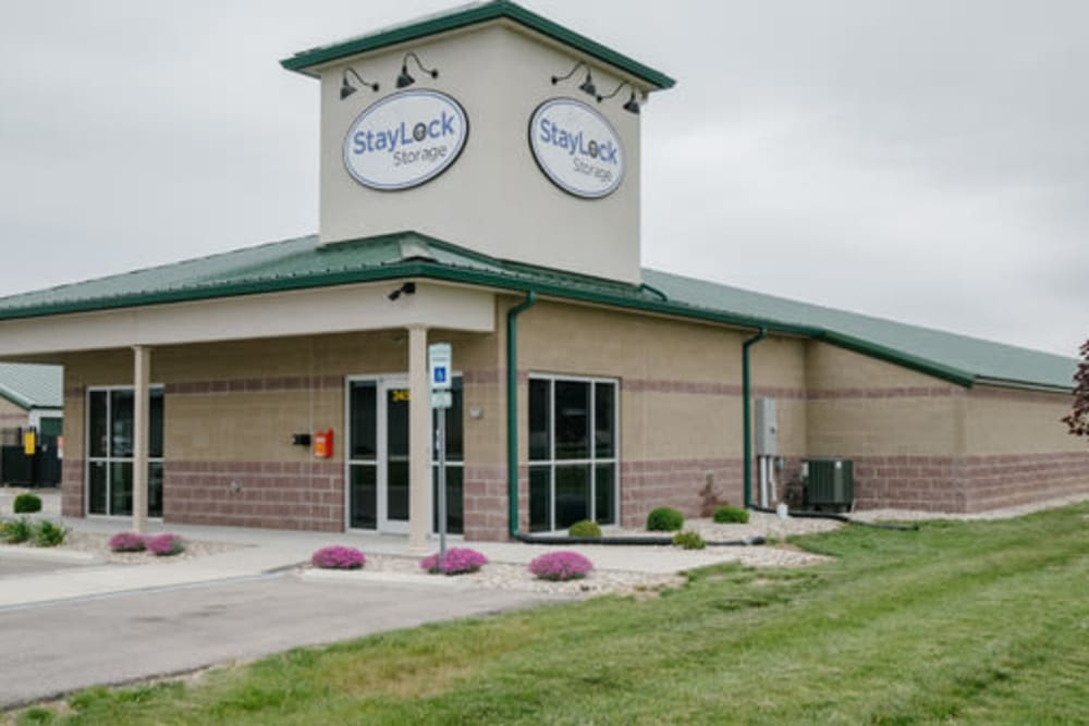 Leasing office of StayLock Storage in Shelbyville, Indiana