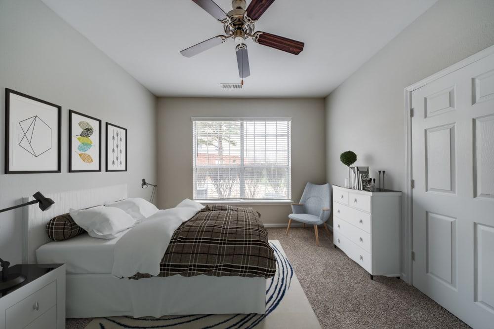 Large bedroom at Preston View in Morrisville, North Carolina
