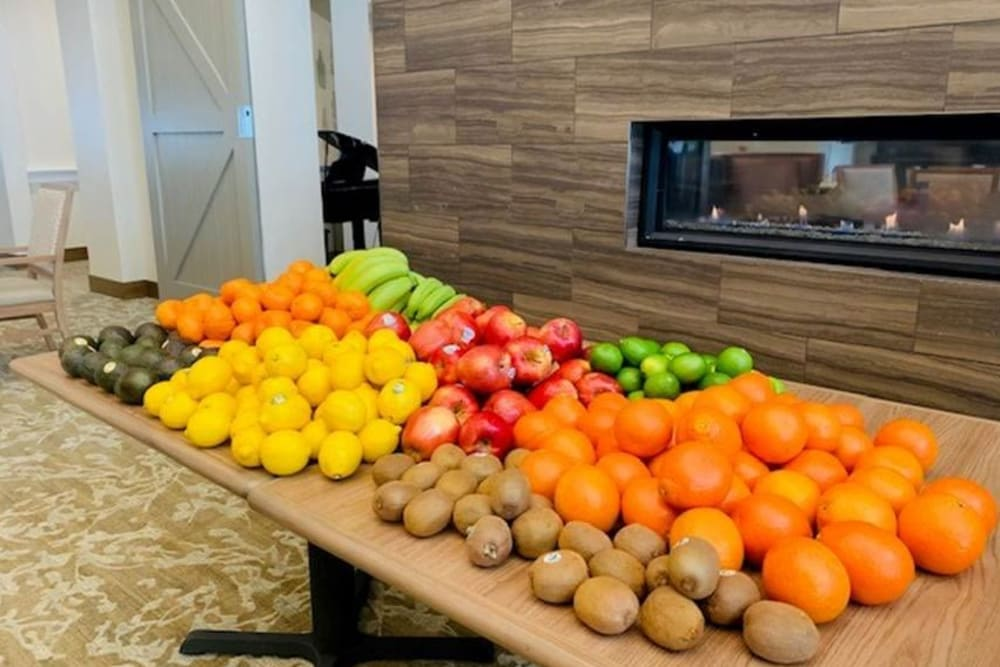Fruit ready for delivery to Clearwater residents