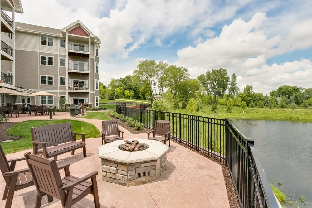 Co-op amenities at Applewood Pointe Eagan in Eagan, Minnesota.