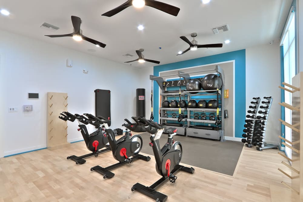 Enjoy Apartments with a Fitness Center at SUR702 in Las Vegas, Nevada