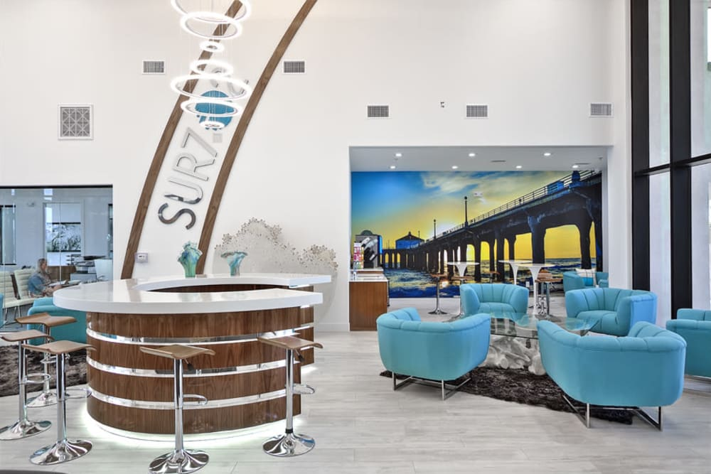 Enjoy Apartments with a Clubhouse at SUR702 in Las Vegas, Nevada