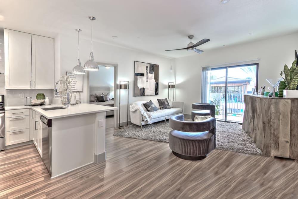Spacious Living Room at SUR702 in Las Vegas, Nevada