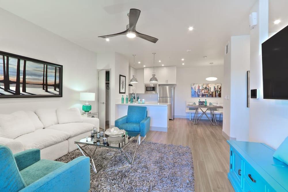 Modern Living Room at SUR702 in Las Vegas, Nevada
