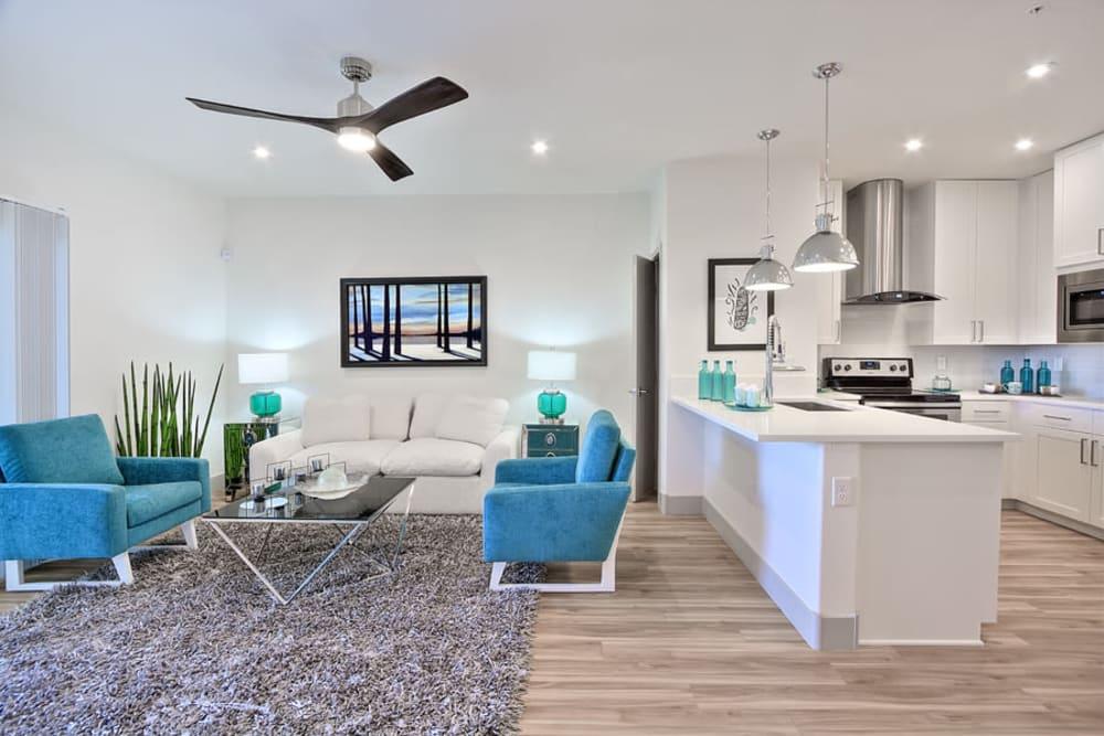 Beautiful Living Room at SUR702 in Las Vegas, NV
