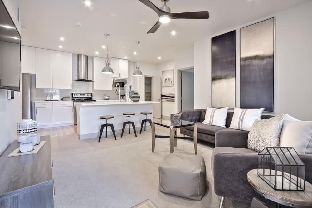 Beautiful Living Room at SUR702 in Las Vegas, Nevada