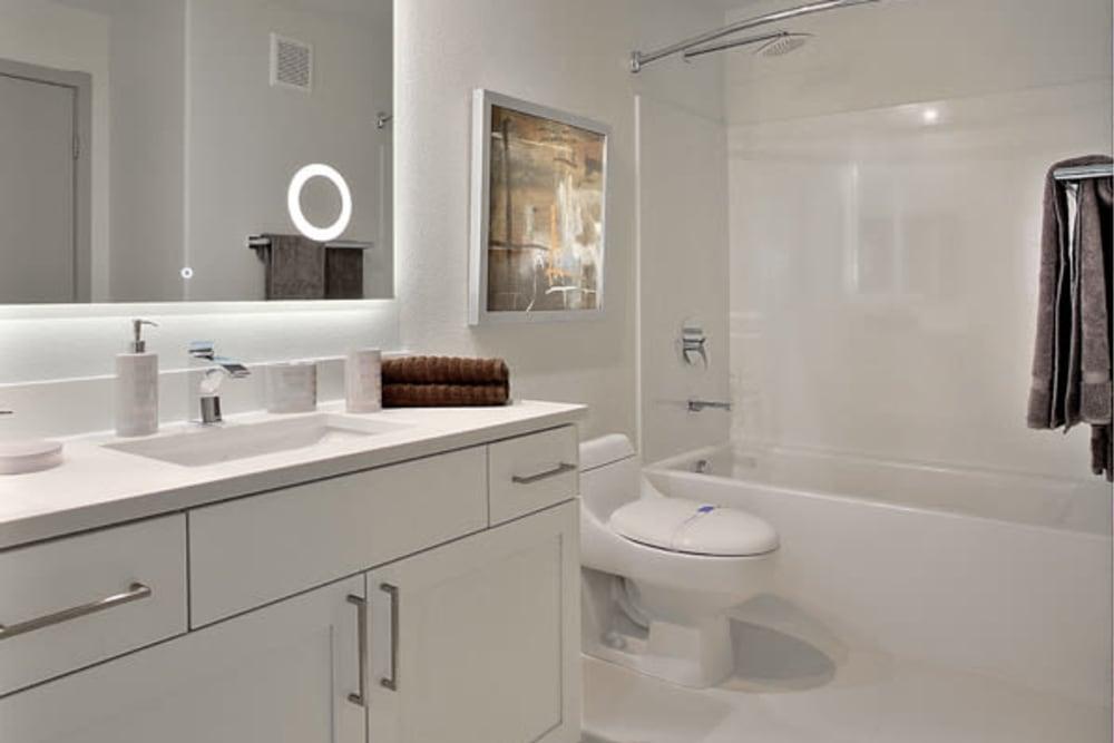 Luxury Bathroom at SUR702 in Las Vegas, Nevada