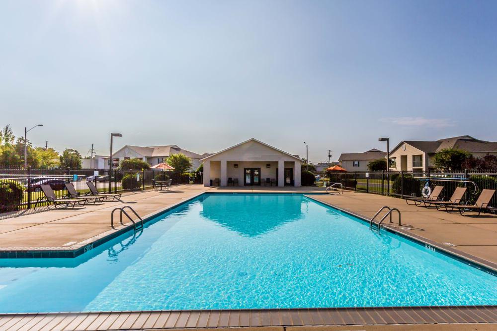 The pool at The Retreat at Sherwood in Sherwood, Arkansas