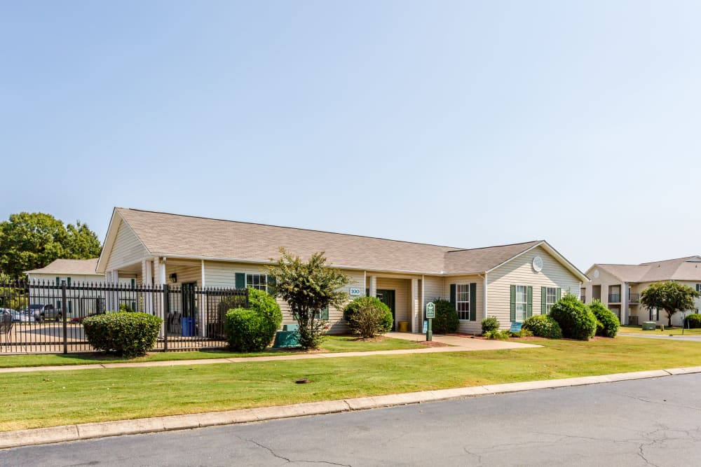 The front of the building at The Retreat at Sherwood in Sherwood, Arkansas