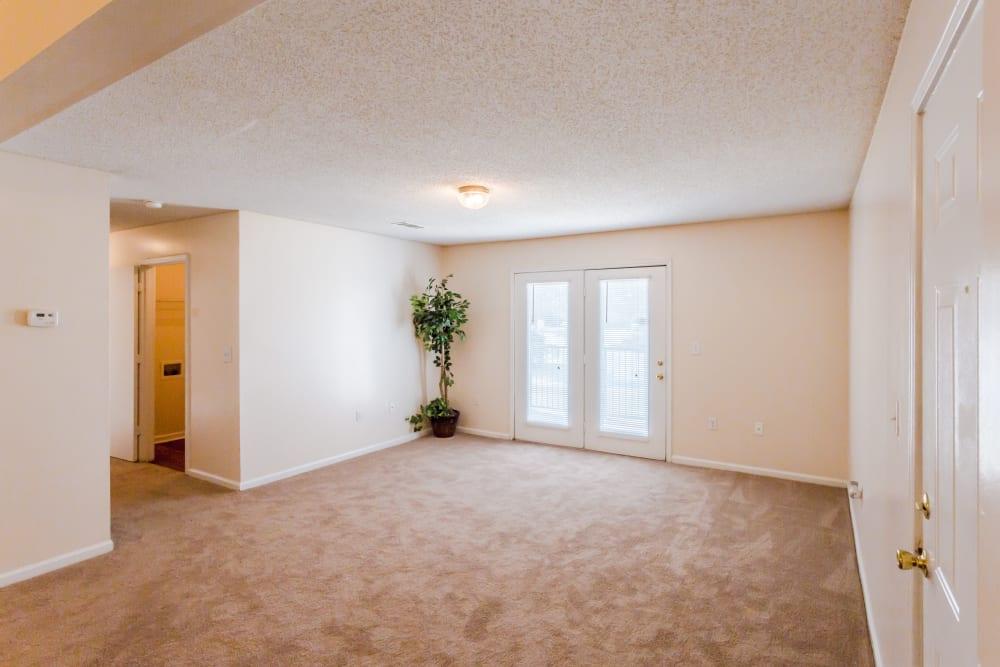 A living room at The Retreat at Sherwood in Sherwood, Arkansas