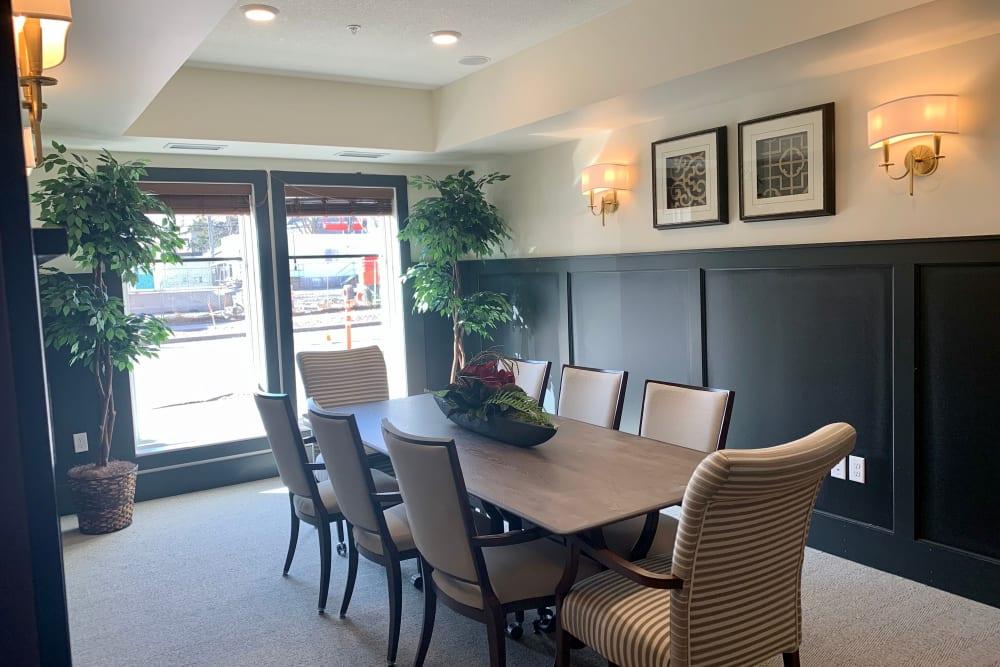 Dining area at Seven Hills Senior Living