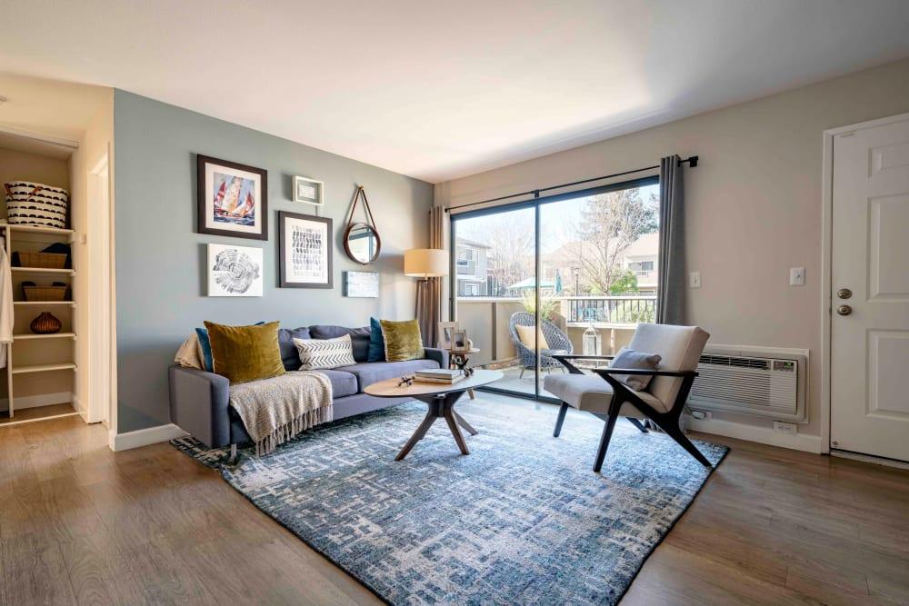 Living Room at Sofi Berryessa in San Jose, California