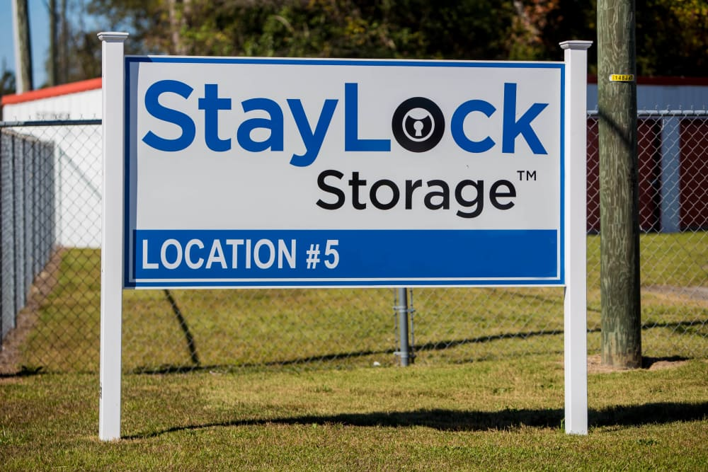 StayLock Storage sign in Hartsville, South Carolina