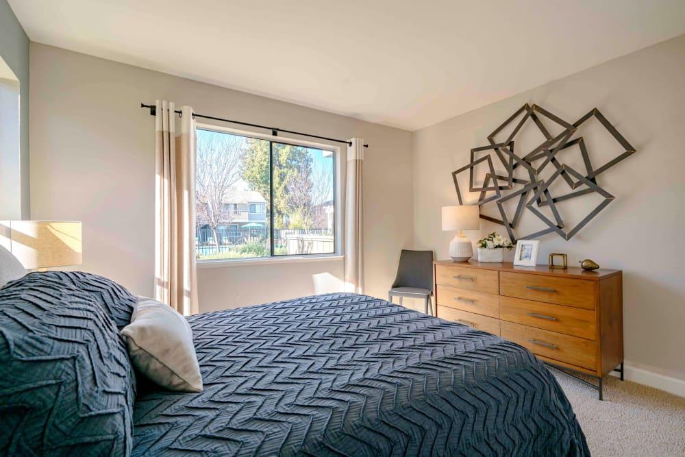 Bedroom at Sofi Berryessa in San Jose, California