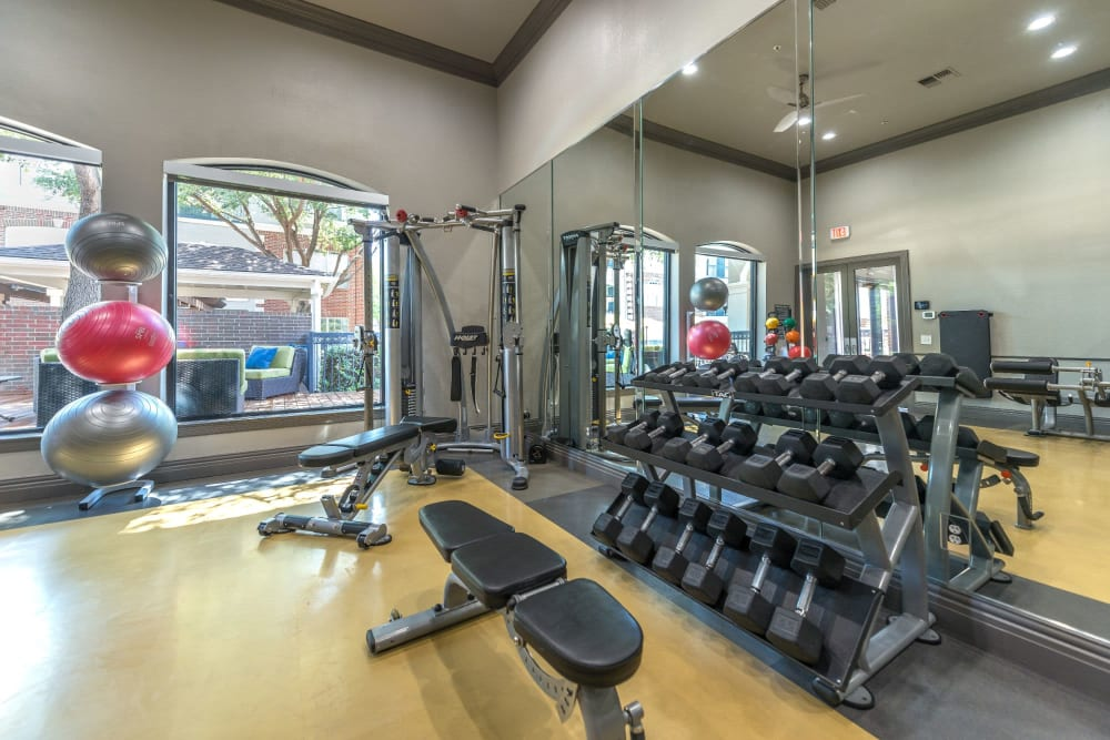 24-Hour State-of-the-Art Fitness Zone at Olympus 7th Street Station in Fort Worth, Texas
