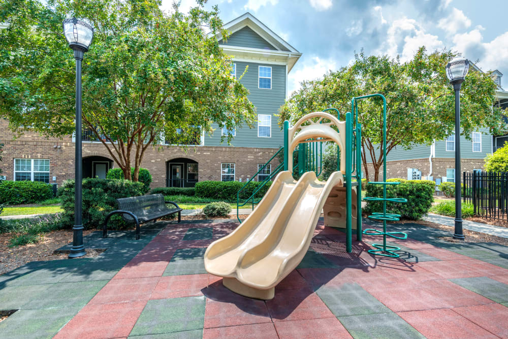Spacious onsite children's playground at Olympus Carrington in Pooler, Georgia