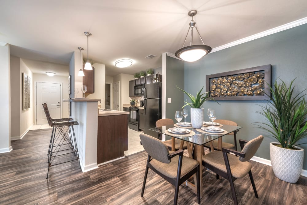 Open floor plans at Olympus Hillwood in Murfreesboro, Tennessee