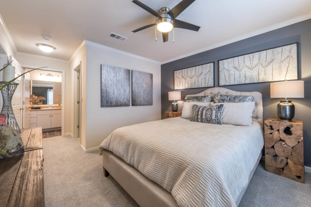 Master bedroom at Olympus Hillwood in Murfreesboro, Tennessee