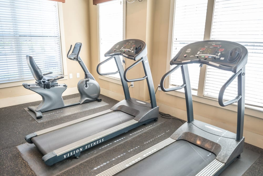 Treadmills at Odyssey Lake in Brunswick, Georgia