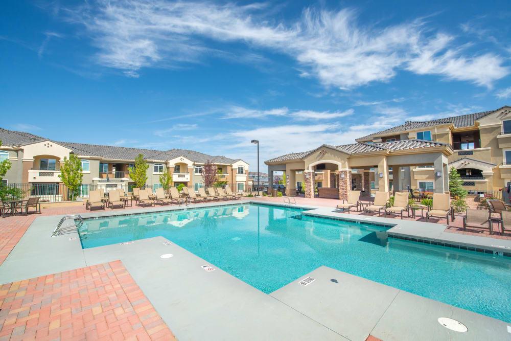 Beautiful Olympus Encantada pool in Albuquerque, New Mexico